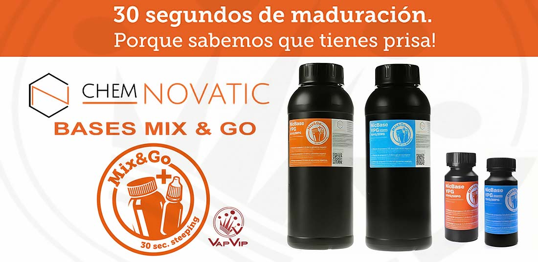 1000ML Base Mix & Go Chemnovatic en España