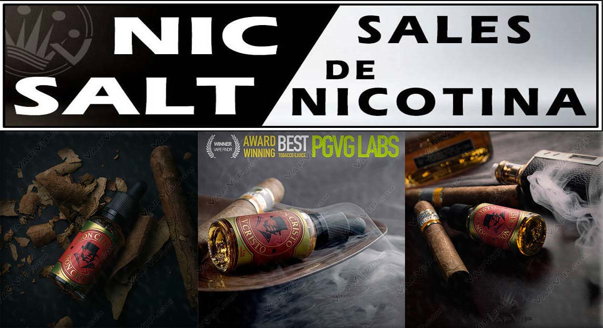 DON CRISTO Nic Salt nicotine salts