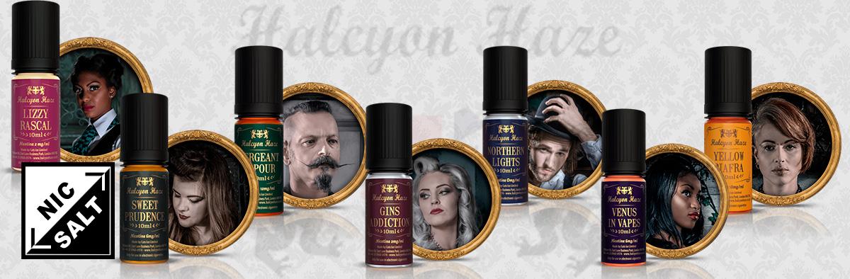 Halcyon Haze Nicotine Plus in Vapvip Europe, Spain