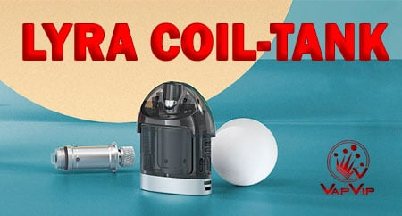 Coil-Tank Replacement POD LYRA Pod by Lost Vape buy in Spain