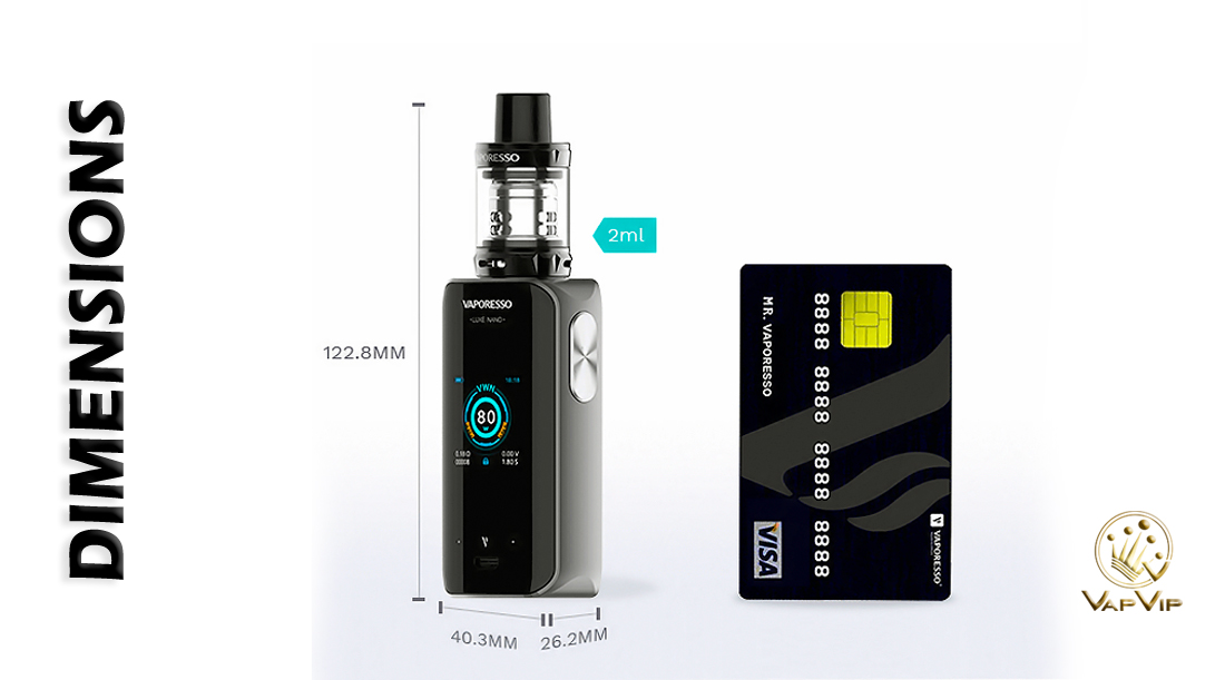 Vaporesso LUXE Nano 80W KIT buy cheap in Europe and Spain