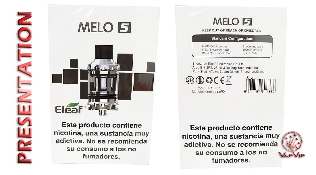 Atomizador MELO 5 Eleaf España