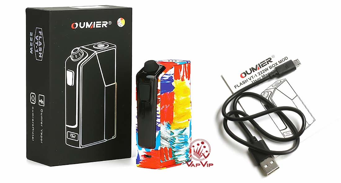 BOX FLASH VT-1 222W TC Box MOD by Oumier comprar en España