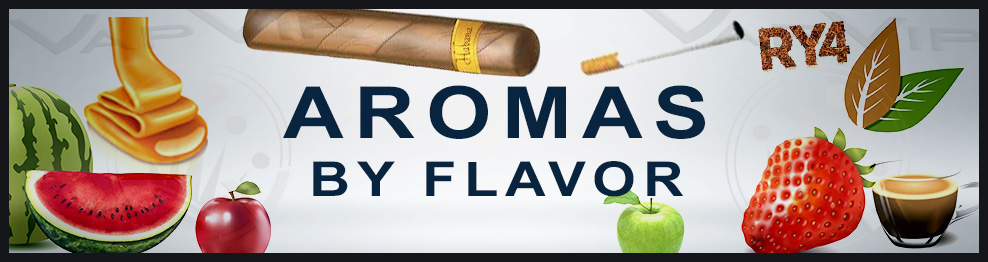 All the vapouring aromas to choose from for flavor
