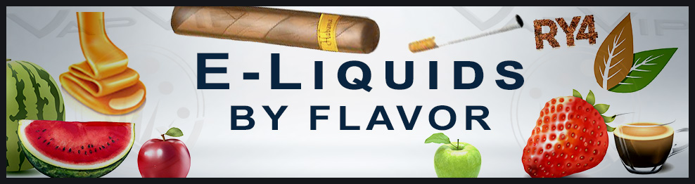 All the eliquids to choose from for flavor