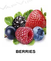 All flavors of berries to make e-liquids for vaping.