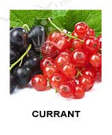 All flavors of currant to make e-liquids for vaping.
