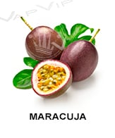 All flavors of maracuja to make e-liquids for vaping.