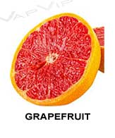 All flavors of grapefruit to make e-liquids for vaping.