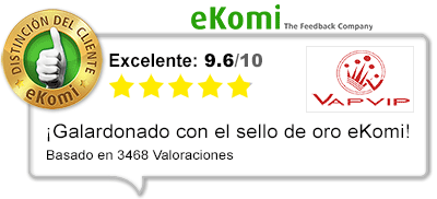 Sello oro Ekomi con las mejores-opiniones tienda de vapeo
