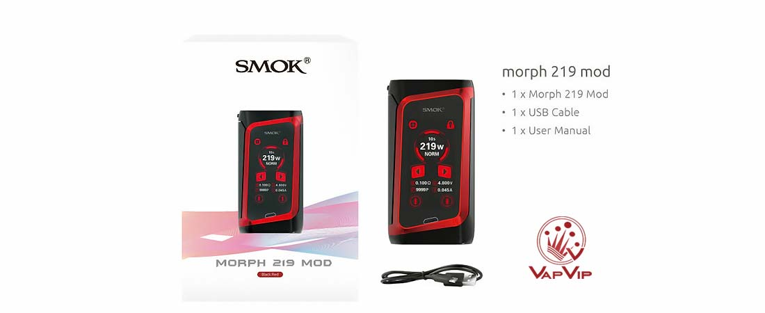 MORPH 219 MOD 219W by Smok in Spain