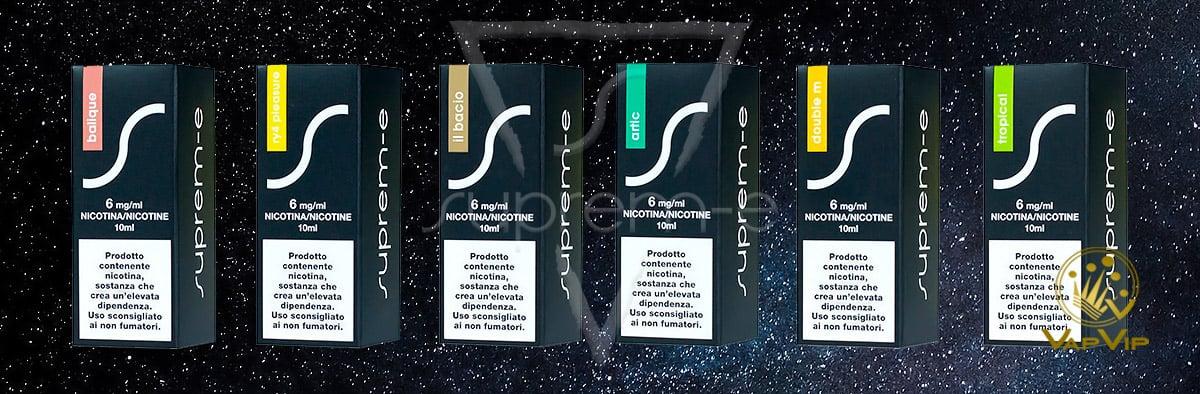 Eliquid 10ml Suprem-e e-liquids in Spain