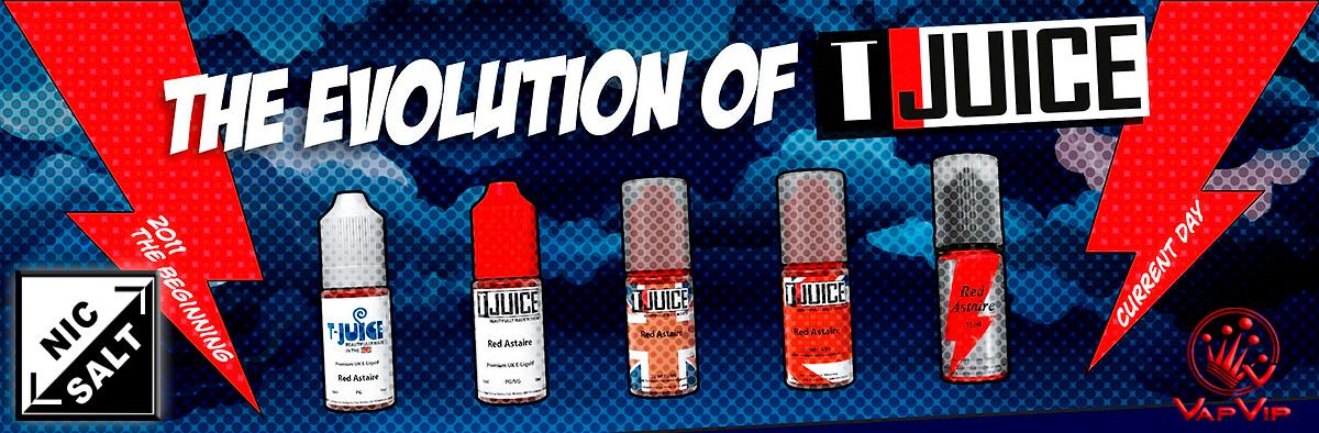 TJuice Eliquids Nicotine Plus in Vapvip Europe, Spain