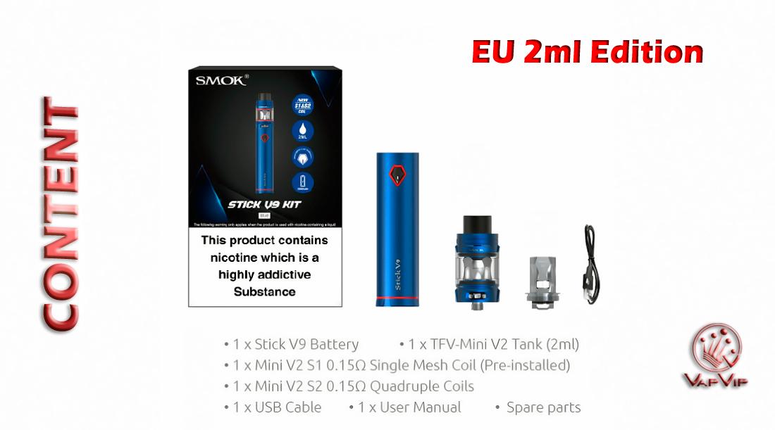 STICK V9 KIT by Smok comprar en España