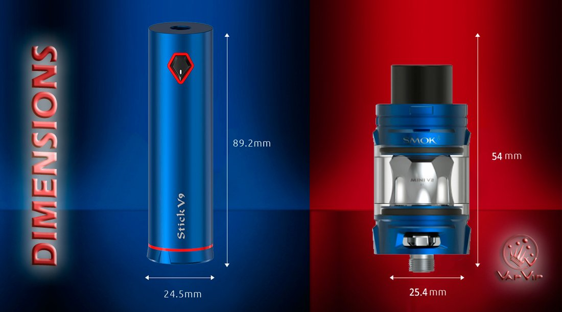 STICK V9 Kit by Smok to buy in Vapvip Europe, Spain