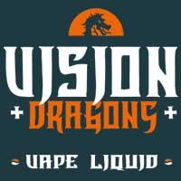 Los mejores e-líquidos frutales premium de vapeo Vision Dragons.