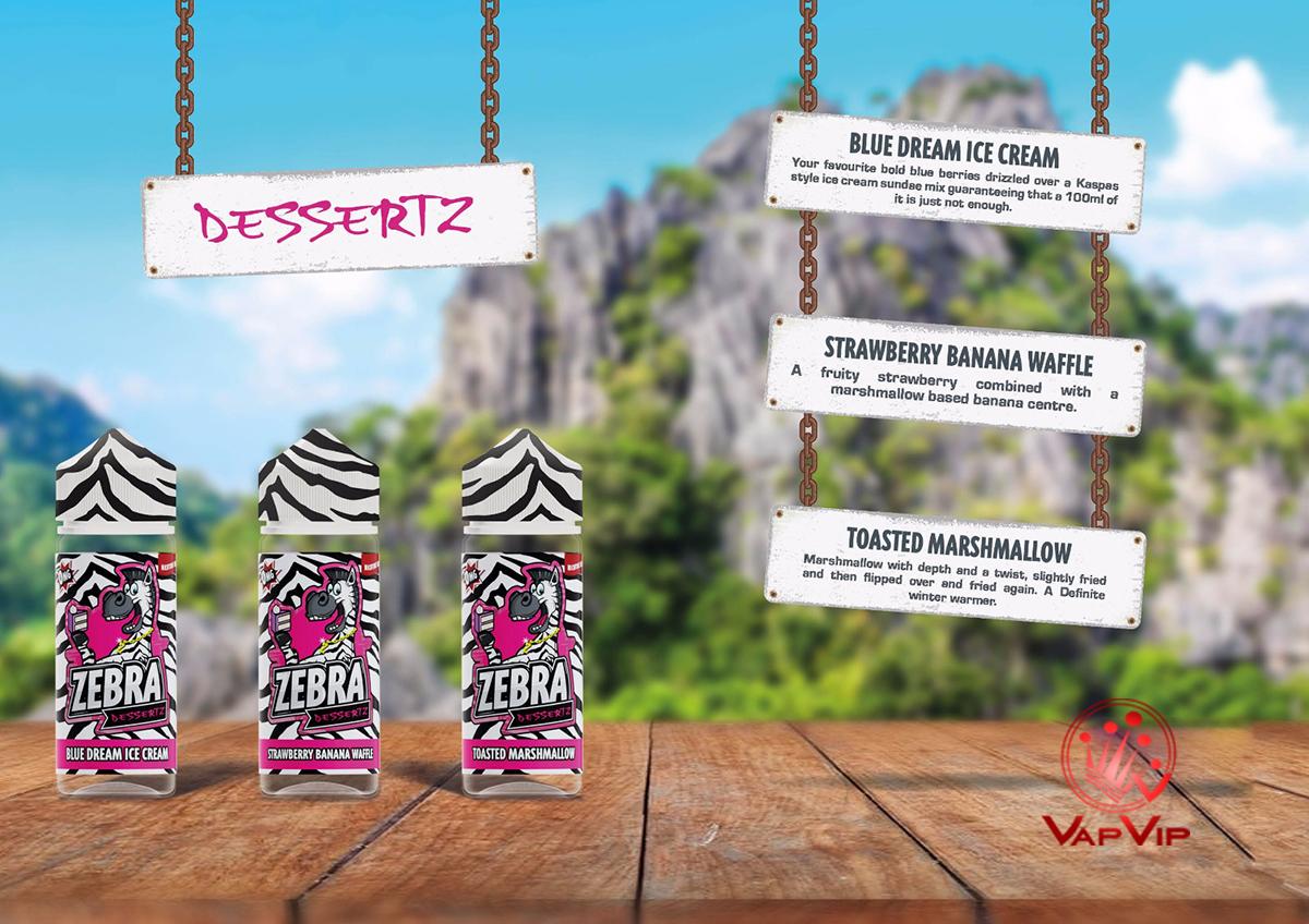 Zebra Juice Eliquids en España