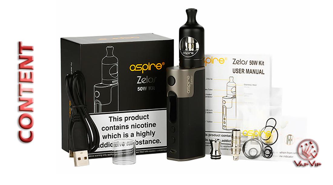 ZELOS Kit by Aspire Vapes to buy in Spain