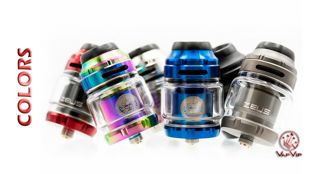ZEUS X RTA 2 ml Atomizer by Geekvape to buy in Europe and Spain