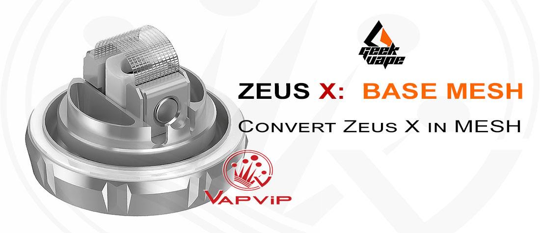 Base ZEUS X MESH RTA by Geekvape comprar en España