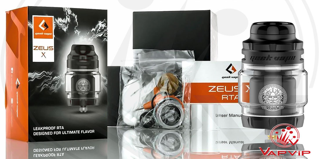 ZEUS X MESH RTA by Geekvape España