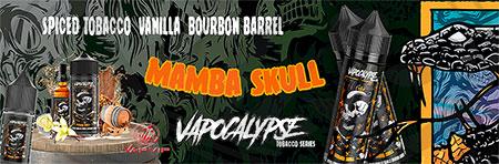 MAMBA SKULL Tabaco E-liquido Vapocalypse