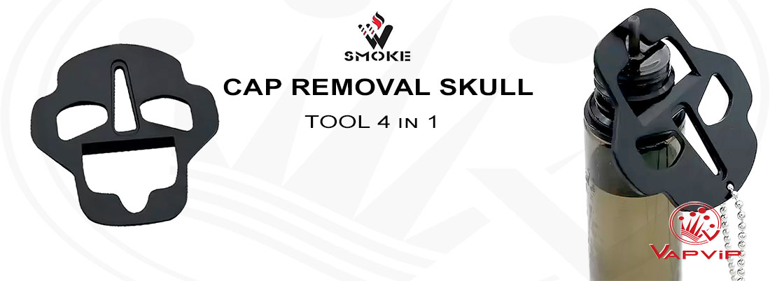 Cap Removal Skull Tool Shortfill 4 en 1 - Vivismoke en España