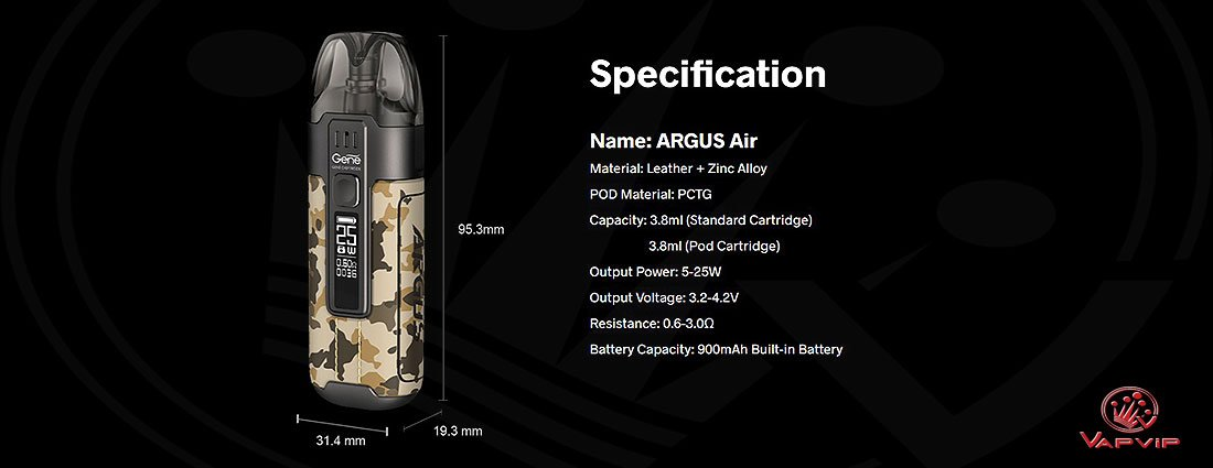 ARGUS Air POD Kit by Voopoo comprar en España