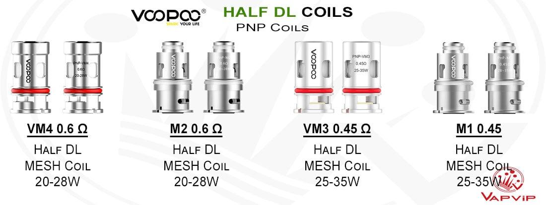 Resistencias PnP COILS HALD DL - Voopoo comprar en España