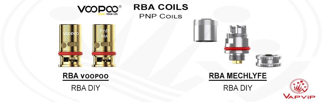 Resistencias PnP COILS RBA - Voopoo comprar en España