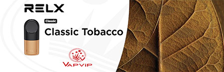 RELX Pro 2x Cápsulas precargadas Tabaco