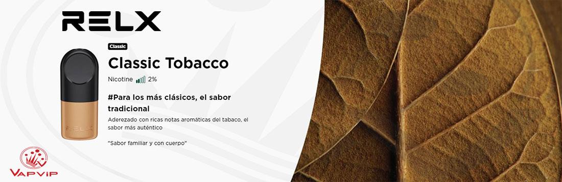 RELX CLASSIC TOBACCO: Tabaco tradicional