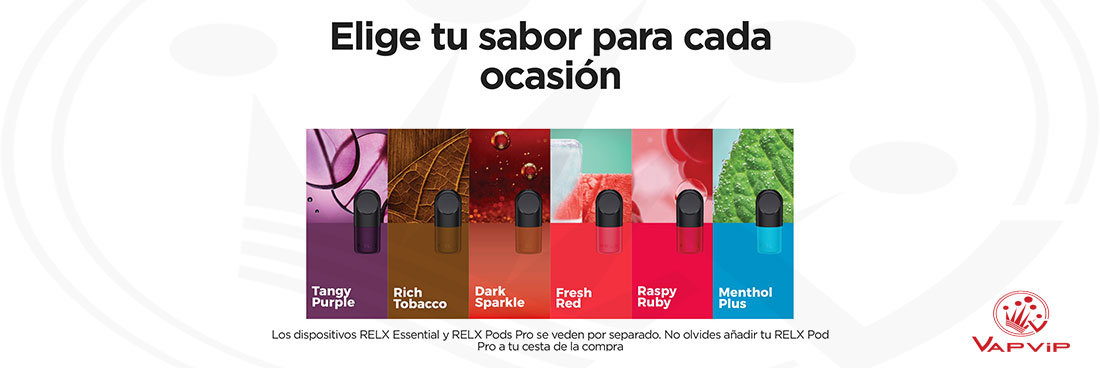 RELX Infinity sabores