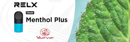 MENTHOL PLUS RELX Pro 2x Cápsulas precargadas