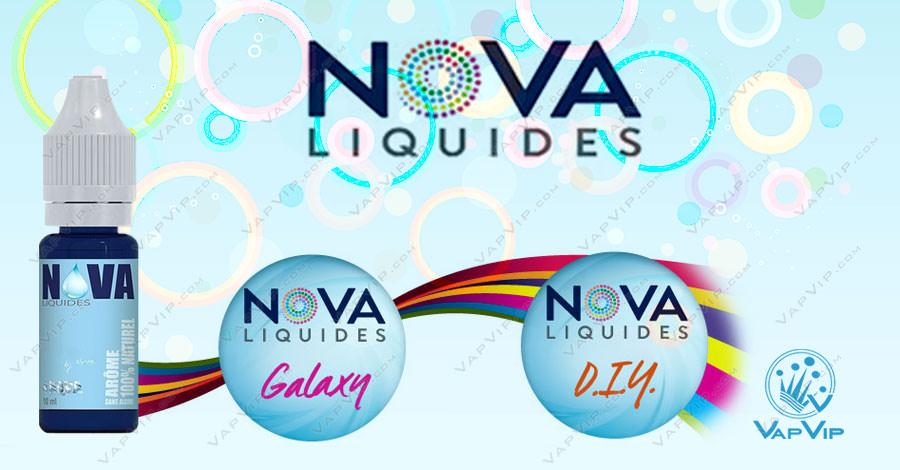 Aromas Nova en España: Aromas para fabricar líquidos estilo: Tribeca, SubZero, Turkish, Prime, Malibu...