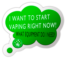 We recommend you the equipment you need for vaping